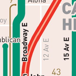View The Map // The Seattle Transit Map // discover Seattle the car ...